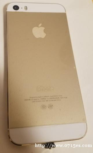 苹果5S备用机出售8成新功能正常